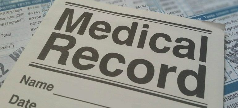 Medical records are some of the documents you should prepare when moving long-distance.