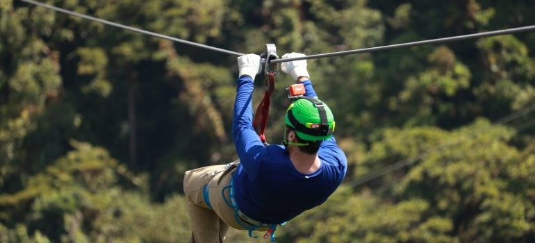 Ziplining can become a part of your summer move to Bergen County