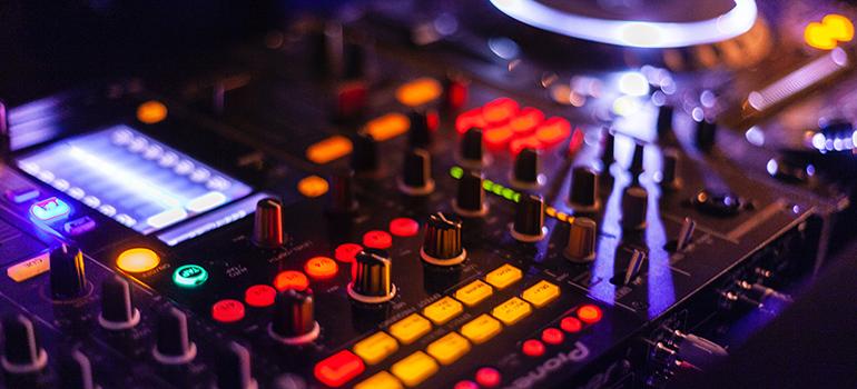 A mixer at a club.