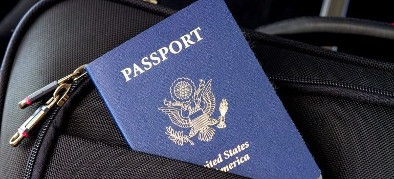 You need your passport to prepare for moving abroad.