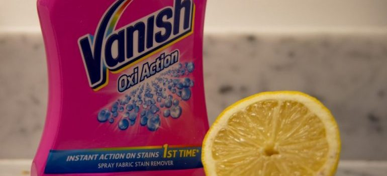 Vanish detergent