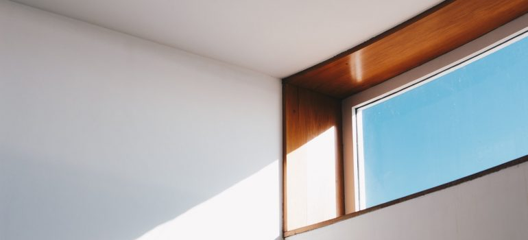 You should put in new windows like the one in the picture before moving into your new home