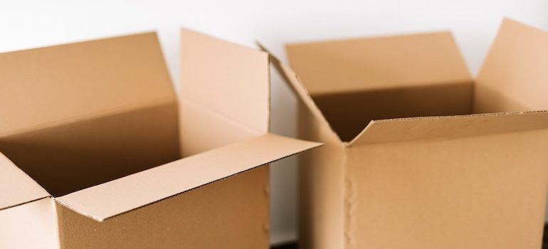 two boxes