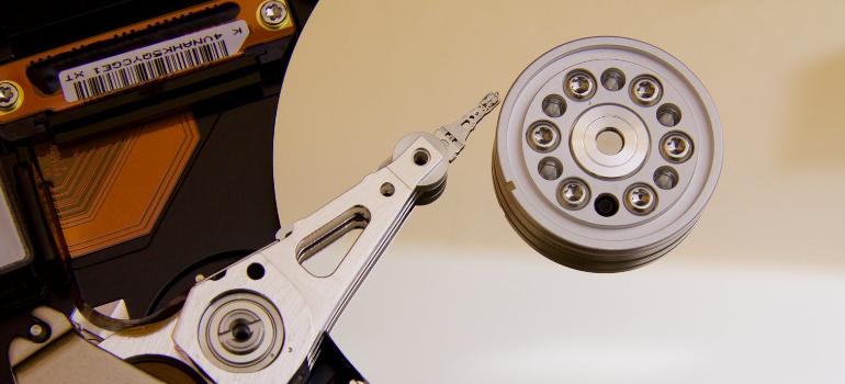 Hard drive for backup