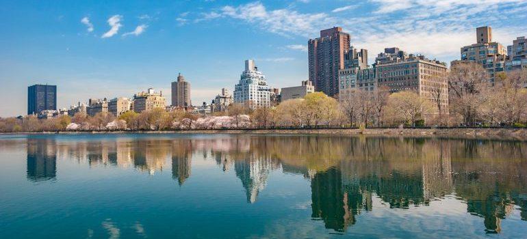 Landscape od New Jersey.