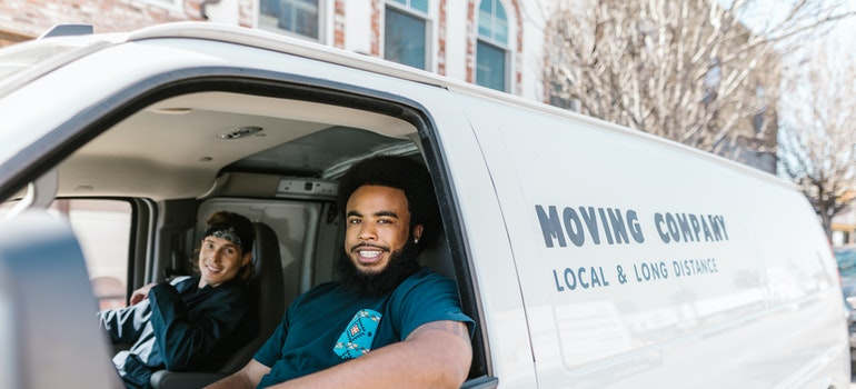 Moving company people